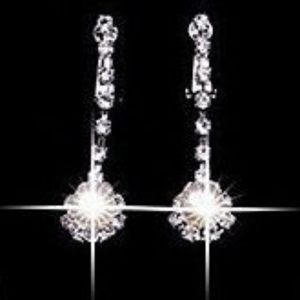 Jewelry - BRAND NEW RHINESTONE FAUX PEARL NECKLACE EARRINGS